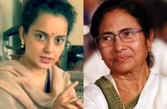 kangana reaction on bengal election results