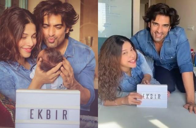 mohit malik and aditi malik name their son ekbir
