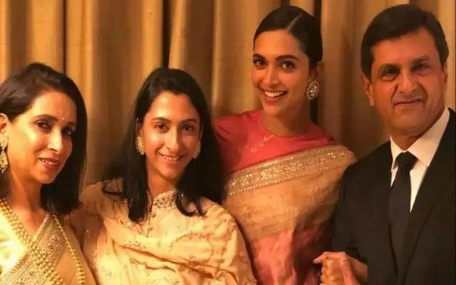 deepika padukone father prakash padukone mother and sister corona positive
