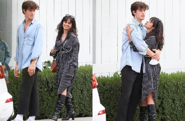 camila cabello outing with boyfriend shawn mendes
