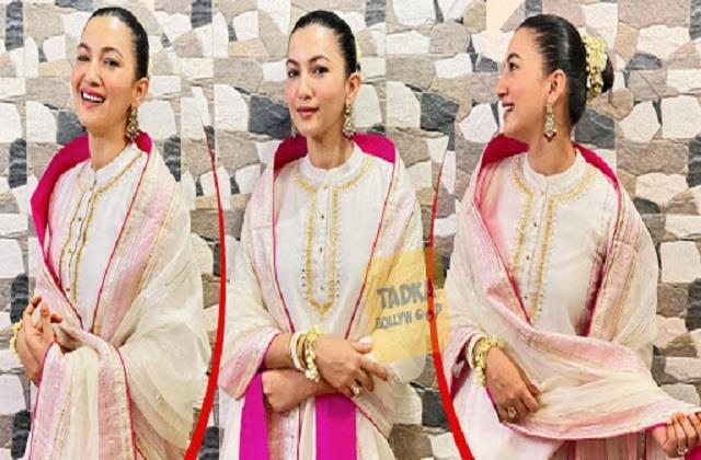 gauahar khan shares her gorgeous photo