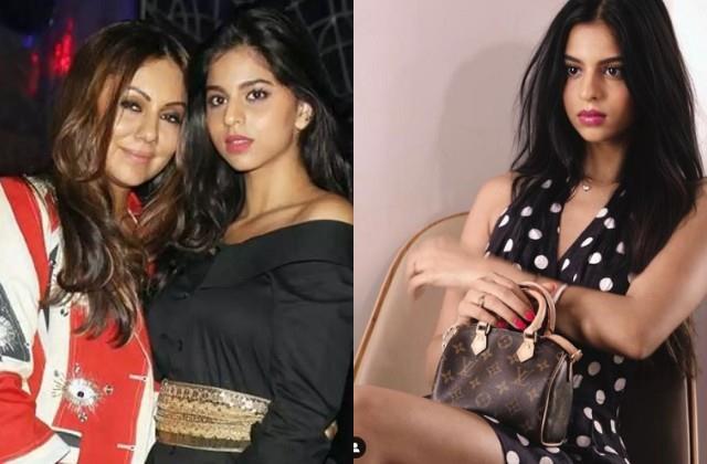 gauri khan wishes birthday to daughter suhana khan