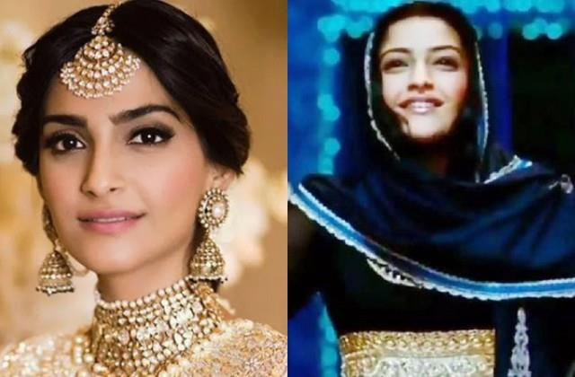 sonam kapoor trolled by sharing  dekho chand aaya  song video on eid