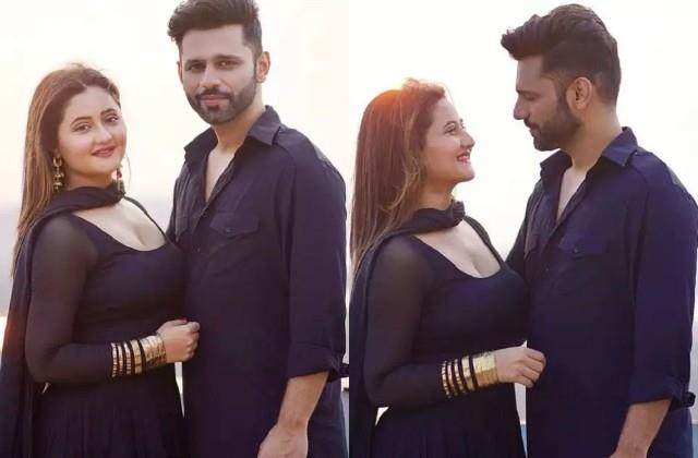 rahul vaidya shares romantic photos with rashami desai