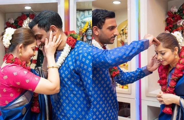 sonali kulkarni got married with kunal benodekar in dubai