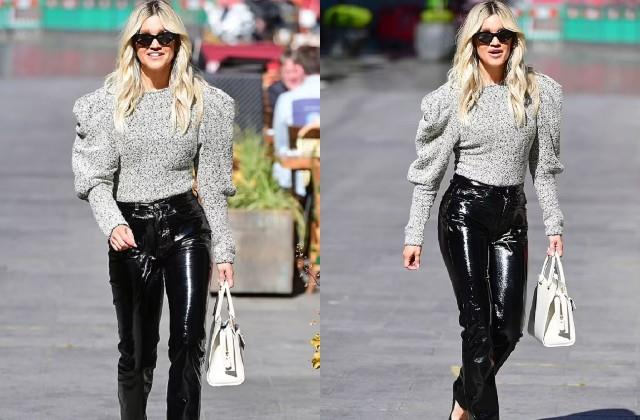 ashley roberts spotted in london