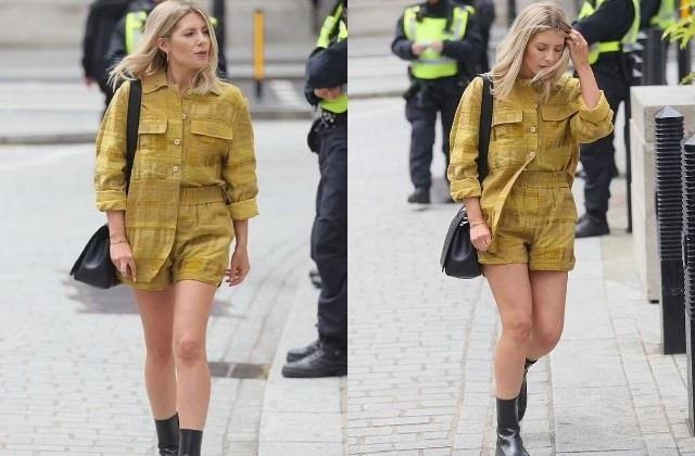mollie king spotted in london