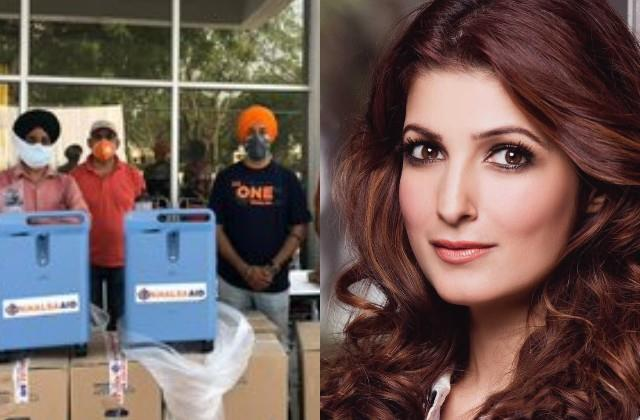 twinkle distributes oxygen concentrators punjab and delhi for covid patients