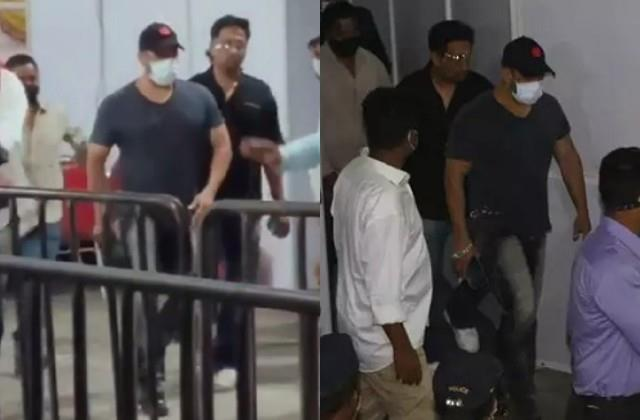 salman khan took second dose of covid vaccine on eid video viral