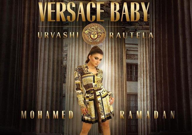 urvashi rautela debut international album  versace baby  released