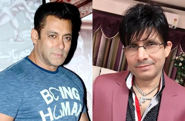 salman team reveals case against krk not done due to  radhey  negative review