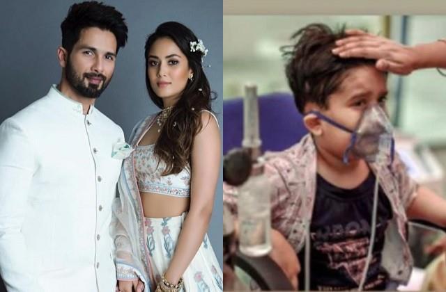 shahid wife meera rajput shares photo of child fighting coronavirus