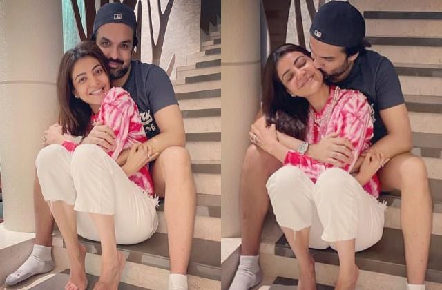 kajal aggarwal shares romantic photos with husband gautam kitchlu