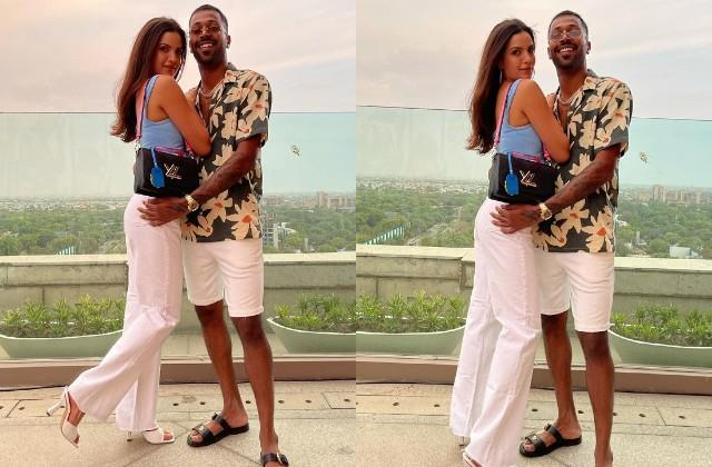 hardik pandya shares romantic photos with wife natasha stankovic