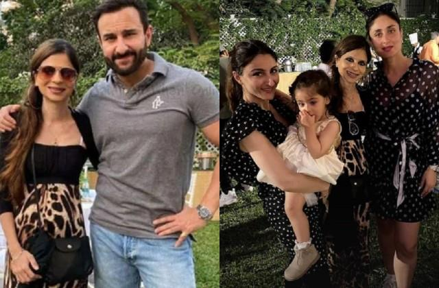 saif ali khan sister saba ali khan shares video with family