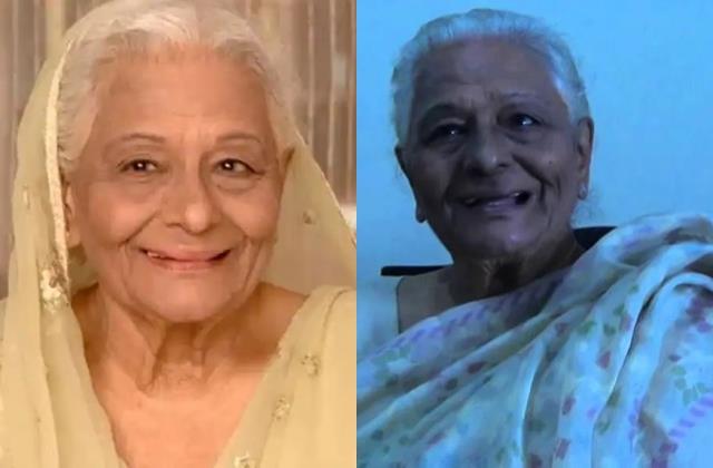 tv actress tarla joshi passes away