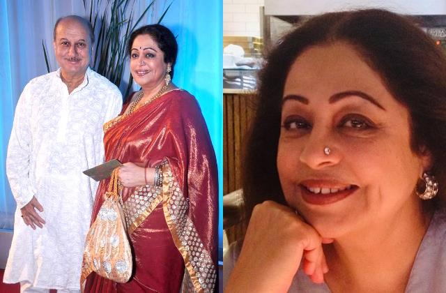 anupam kher wishes dearest wife kirron kher a happy birthday