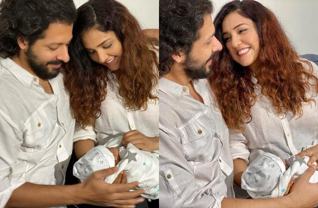 neeti mohan share first pictures of newborn son aryaveer stars showering love