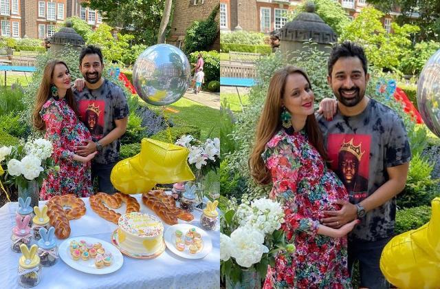 roadies fame rannvijay singha wife prianka singha baby shower pictures