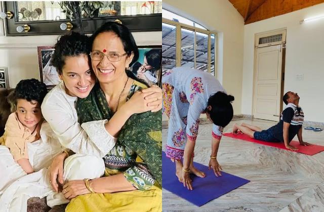 kangana ranaut said yoga helped her mother avoid heart surgery