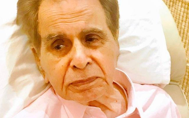 dilip kumar is on oxygen support