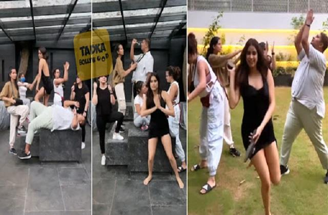 janhvi kapoor dance with her friends video viral