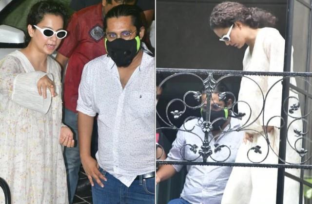 kangana ranaut brutally trolled for not wearing mask