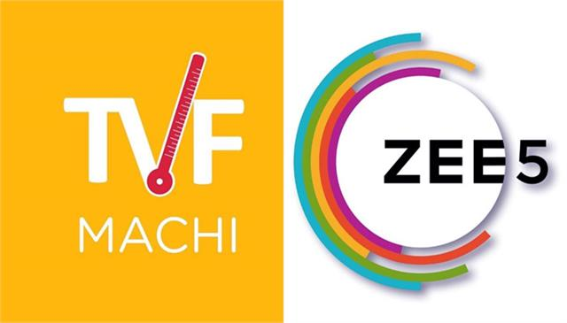 zee5 announced a content partnership with tvf