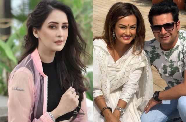 chahat khanna reaction on controversy between karan mehra and nisha rawal