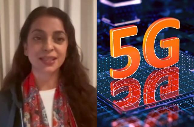 juhi chawla shared a video about the bad effects of 5g