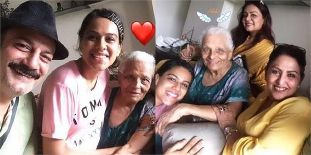 co star nia sharma expressed grief on death of tarla joshi
