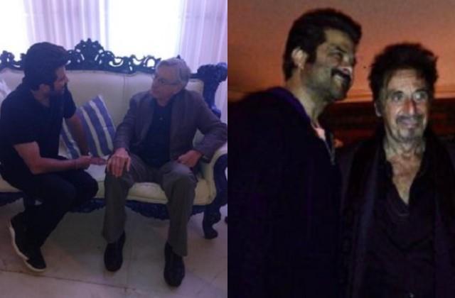 anil kapoor shares photos with hollywood stars robert de niro and al pacino