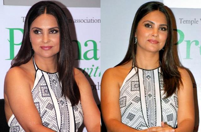 lara dutta answer to user who asks about vaccination