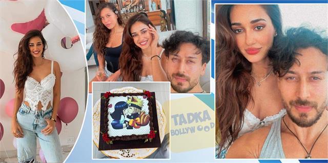 disha patani birthday celebrations with tiger and krishna shroff