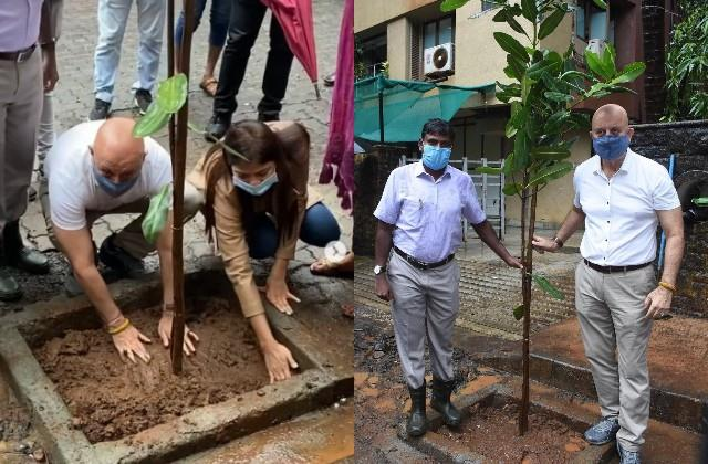 after anil kapoor now anupam kher also planted trees