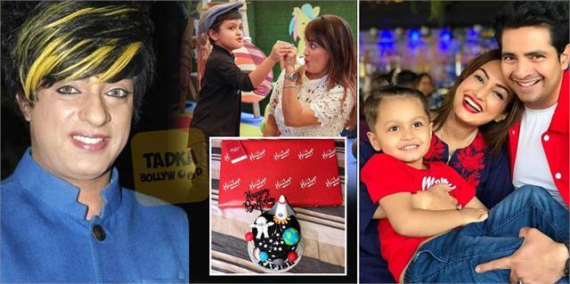karan mehra bought gift son nisha rawal credit card said rohit verma