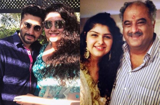 arjun kapoor sister discharge hospital boney gives health of daughter