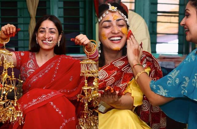 yami gautam shares unseen photos of wedding function