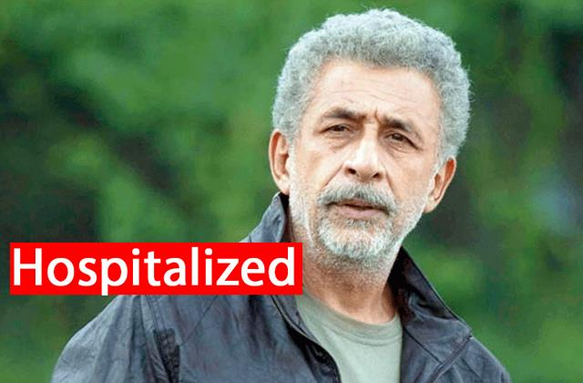 naseeruddin shah hospitalised diagnosed with pneumonia found patch lungs