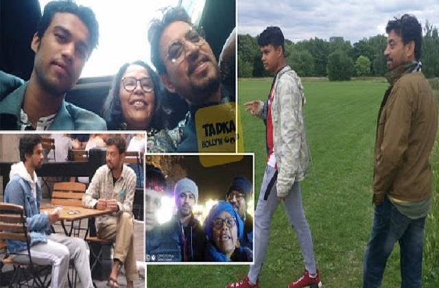 babil khan shares photos with family