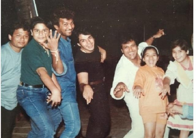 krushna abhishek shares childhood picture with govinda
