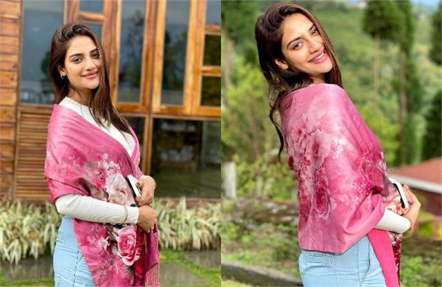tmc mp and actress nusrat jahan hides baby bump in her latest pictures