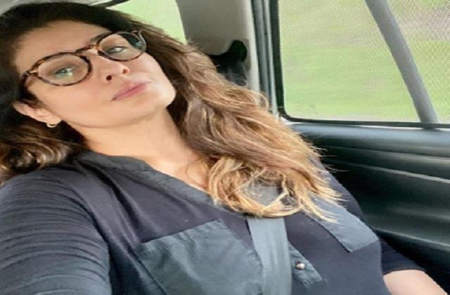 raveena tandon went to the village to refresh the heart and mind photo viral