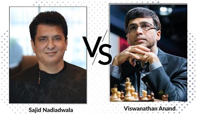 sajid nadiadwala will play chess with viswanathan anand to help in covid19