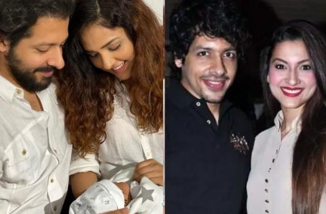 gauahar khan reaction congratulate ex boyfriend for become father