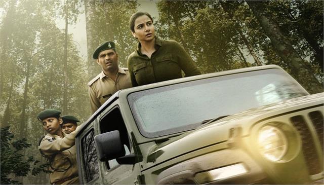 vidya balan film sherni new poster out