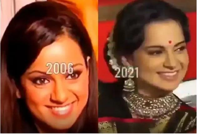 kangana ranaut shares her look transformation video
