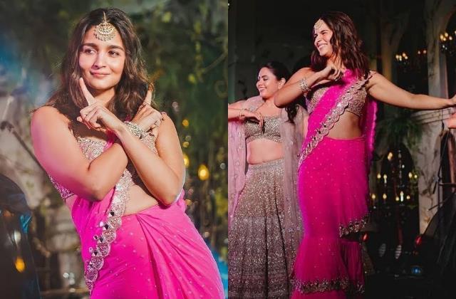 aliaa bhatt dance video viral from her bestie wedding