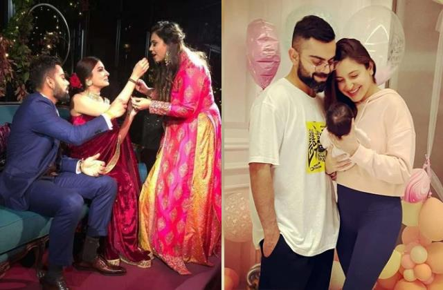 virat kohli sister reveals who virushka daughter vamika looks like