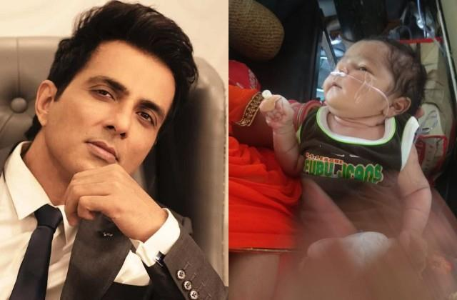 sonu sood come forward for the help of 10 day old girl